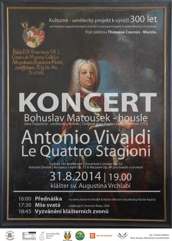 Přednáška - Mše svatá - Vyzvánění klášterních zvonů - Koncert