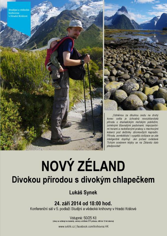 Lukáš Synek: Nový Zéland - divokou přírodou s divokým chlapečkem