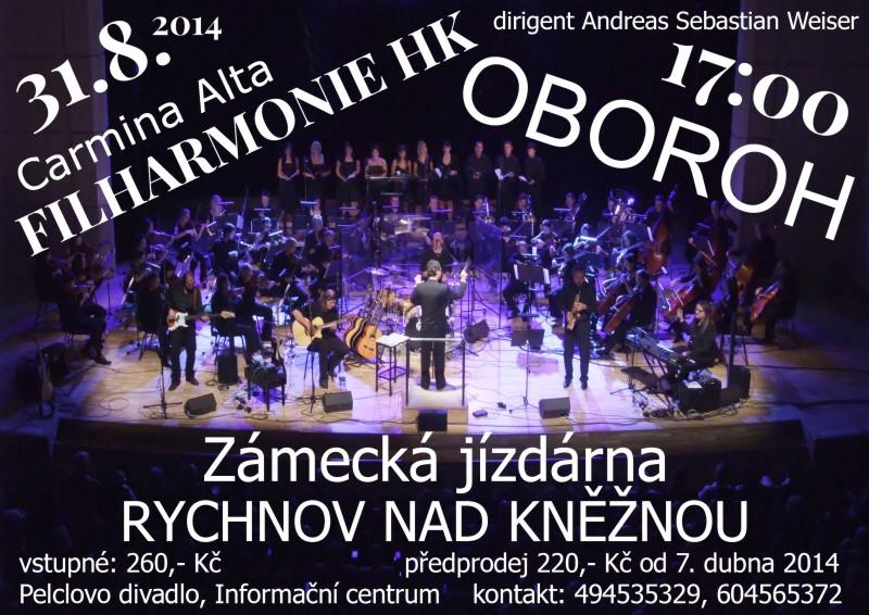 OBOROH, Filharmonie Hradec Králové a Carmina Alta