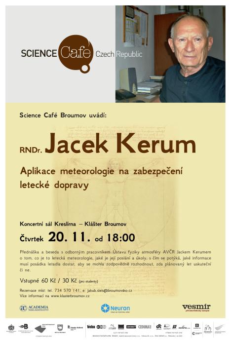 RNDr. Jacek Kerum: Letecká meteorologie