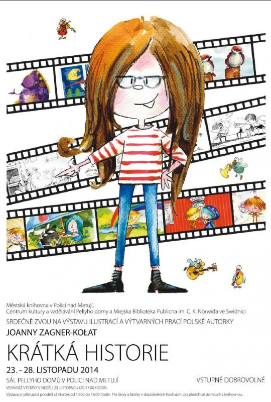 Krátká historie - výstava ilustrací dětské knihy