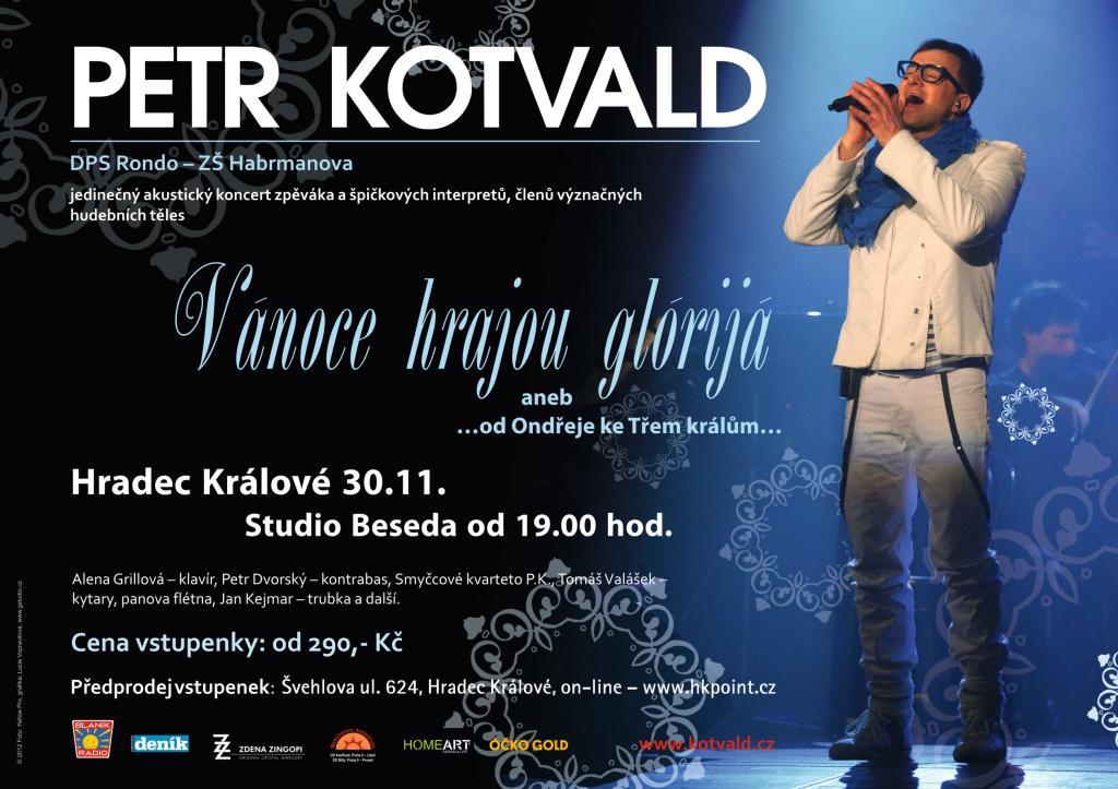 Petr Kotvald - Vánoce hrajou Glórijá aneb od Ondřeje ke Třem králům