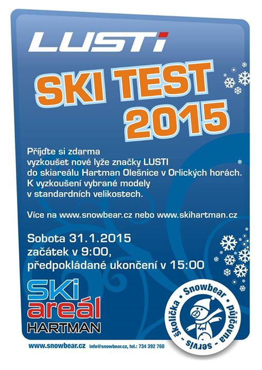 Lusti Ski Test 2015