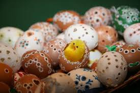 Barevné Velikonoce