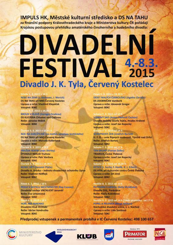 Divadelní festival 2015