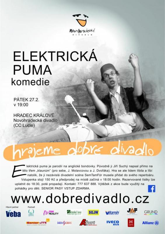 Elektrická puma - divadlo (komedie)