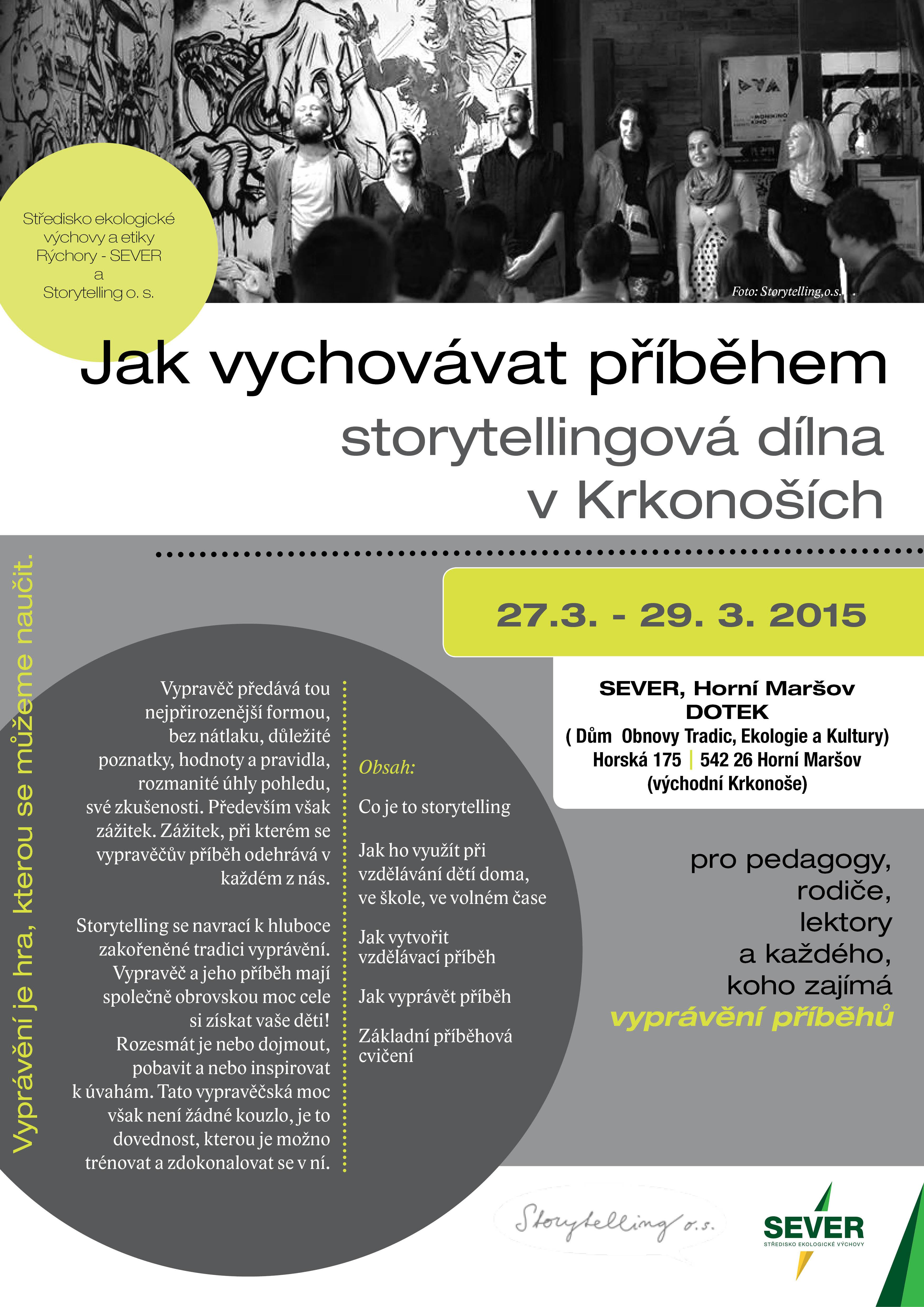 Jak vychovávat příběhem – storytelling v Krkonoších