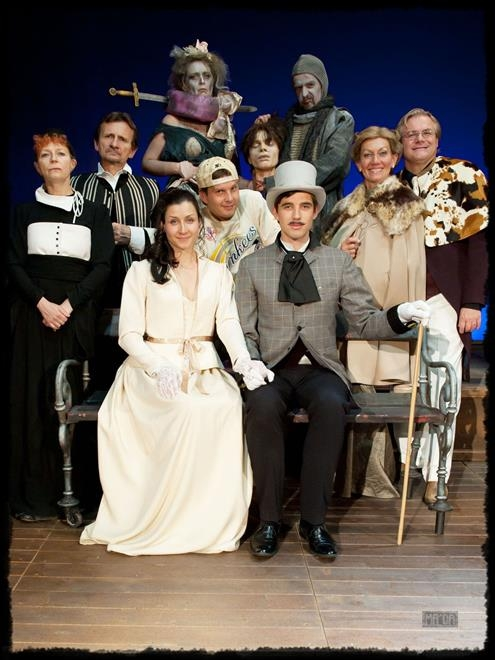 Divadelní představení Cantervillské strašidlo