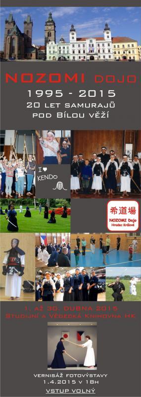 Výstava: Nozomi Dojo 1995 - 2015 - 20 let samurajů pod Bílou věží