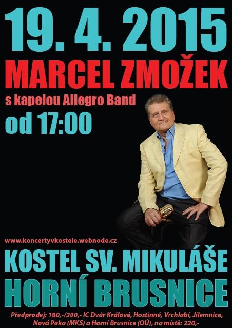 Koncert Marcel Zmožek se skupinou Allegro Band