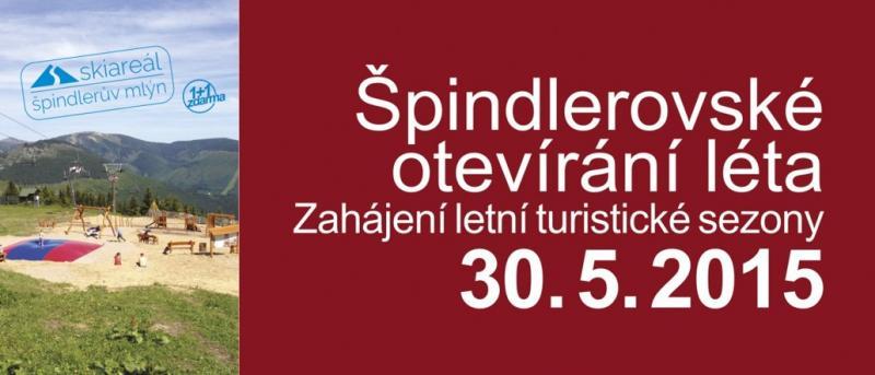 Špindlerovské otevírání léta