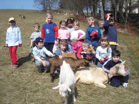 Sobota s kozím stádem