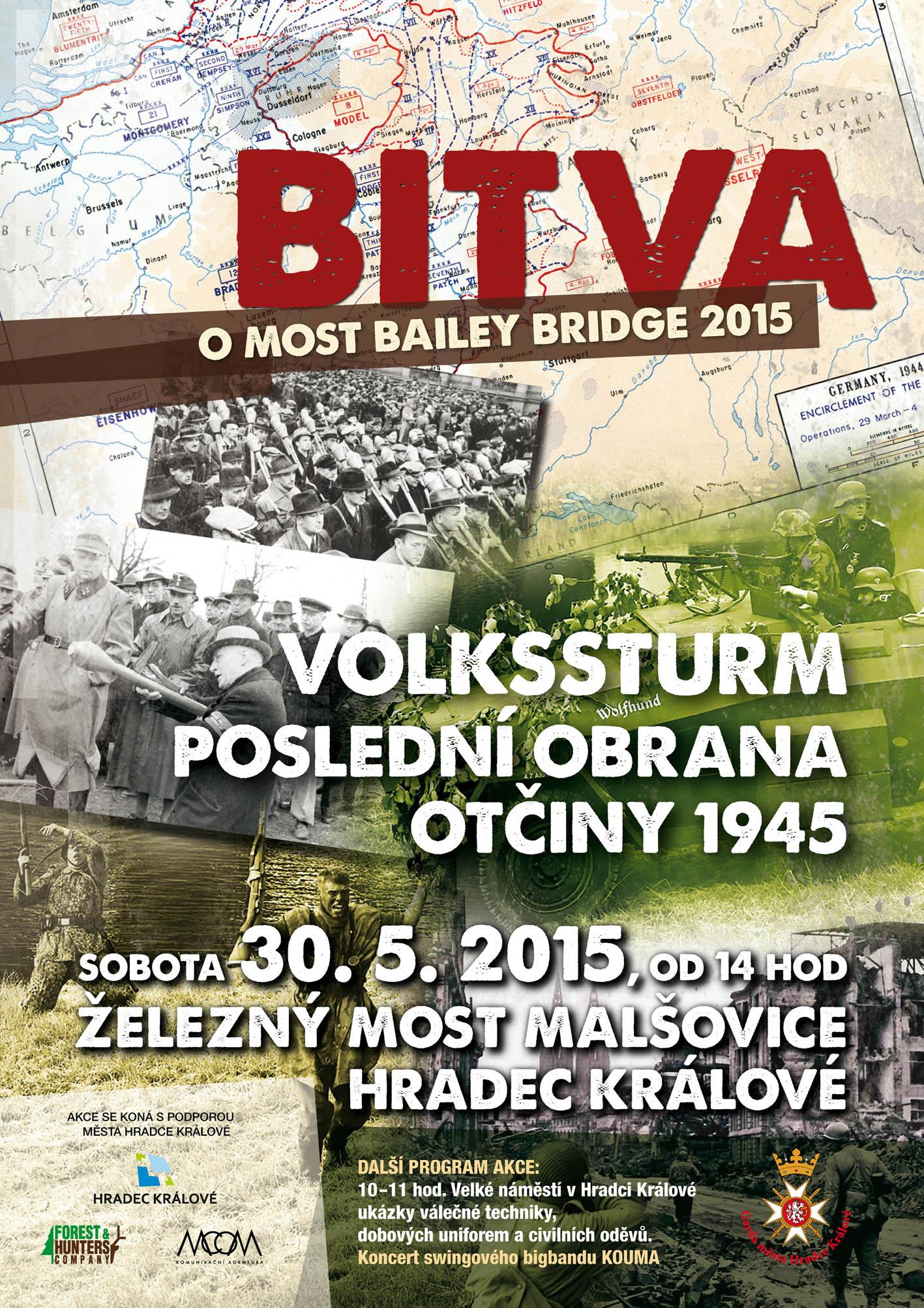 """Bitva o most Bailey Bridge - """"Poslední obrana Otčiny 1945"""""""