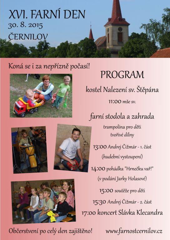 Farní den 2015 v Černilově