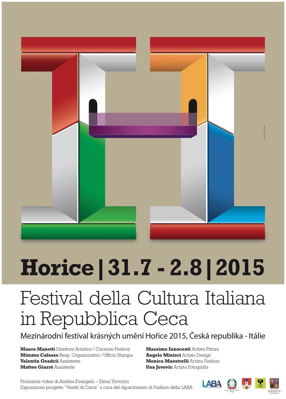 Mezinárodní festival krásných umění Hořice 2015