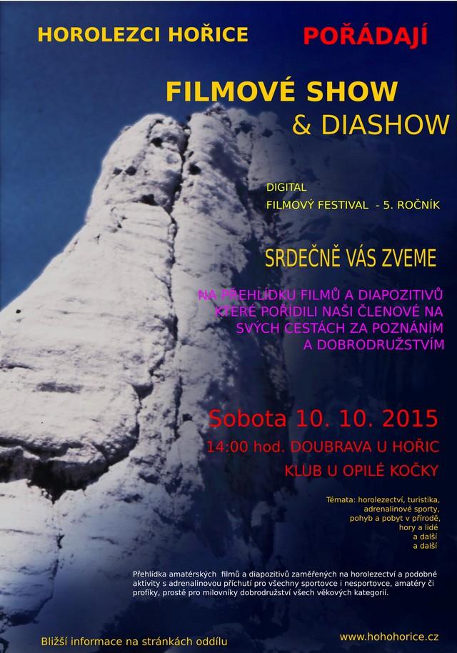 Filmová show a diashow