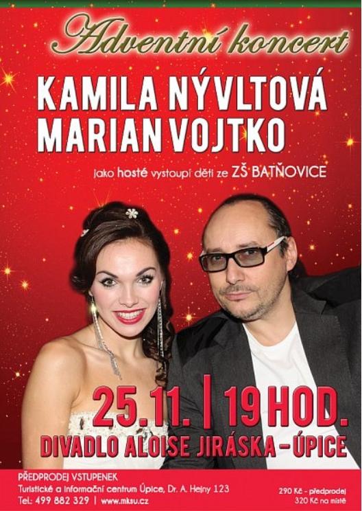 Adventní koncert Kamila Nývltová, Marian Vojtko