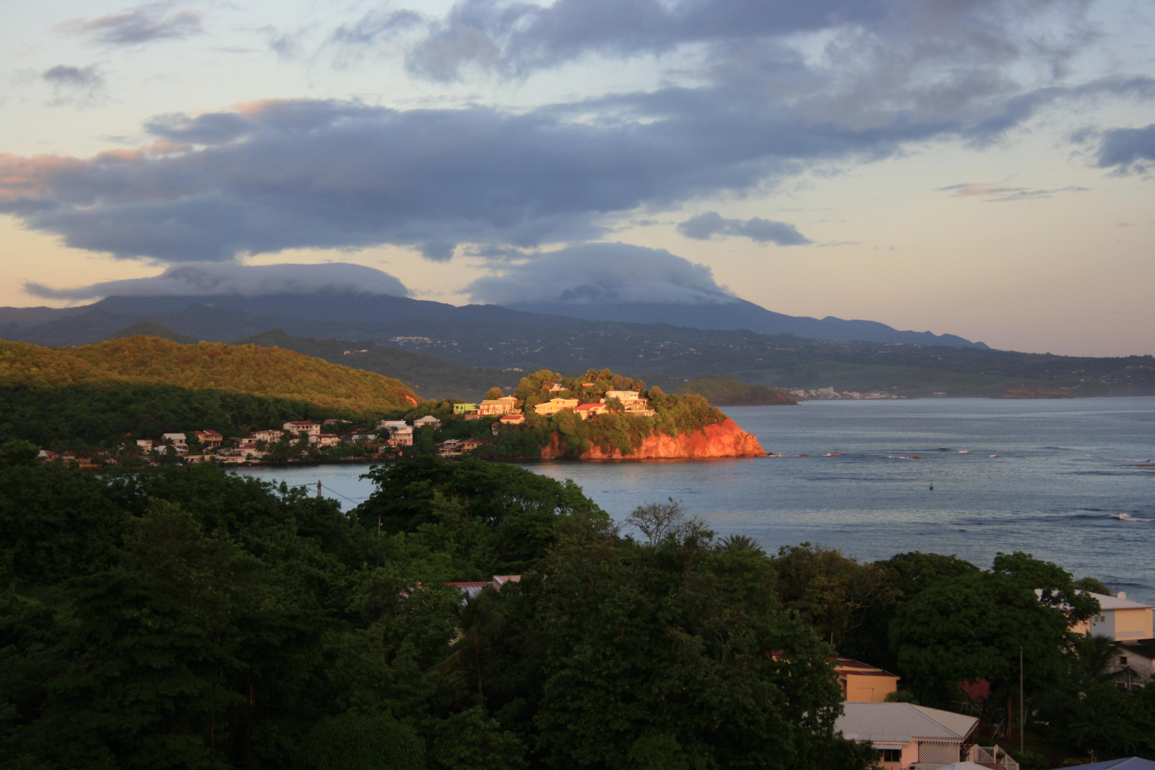 Martinik, tropický ráj v Karibiku